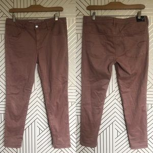 American Eagle Super Stretch Jegging Dusty Pink